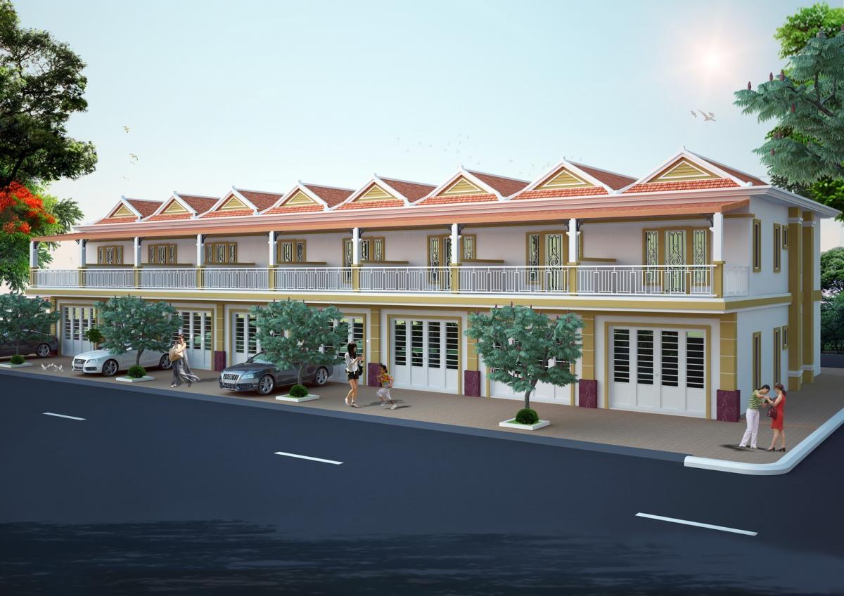 1 Interior Khmer Villa